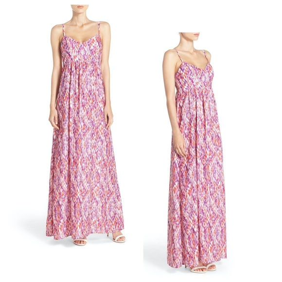 NWOT FELICITY & COCO COLBY MAXI DRESS KALIDIS PRIN